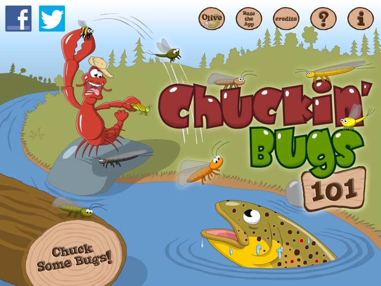 Chuckin' Bugs 101 screenshot-4