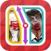 TicToc Pic: Zombie or Vampire Reflex Test Game - iPhoneアプリ