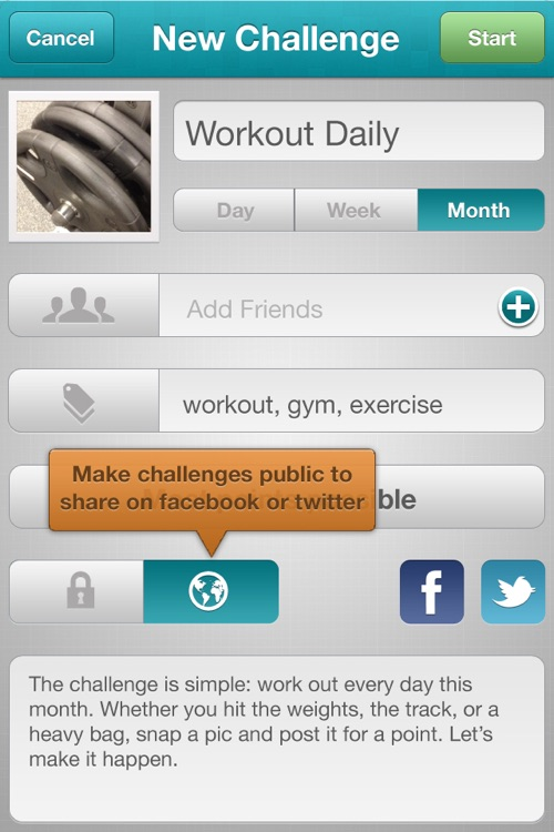 Leap - Join group challenges for motivation and encouragement to reach your goals! screenshot-4