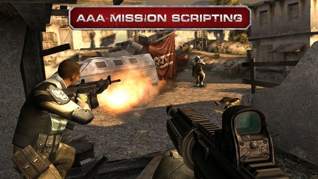 modern combat 3 iphone 4 gameplay
