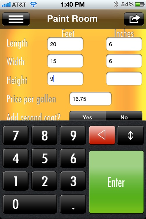 SiConstruct Construction Calculator screenshot-4