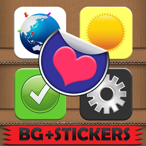 Stick'Em Stickers: Free Photo Edit and Doodle iOS App