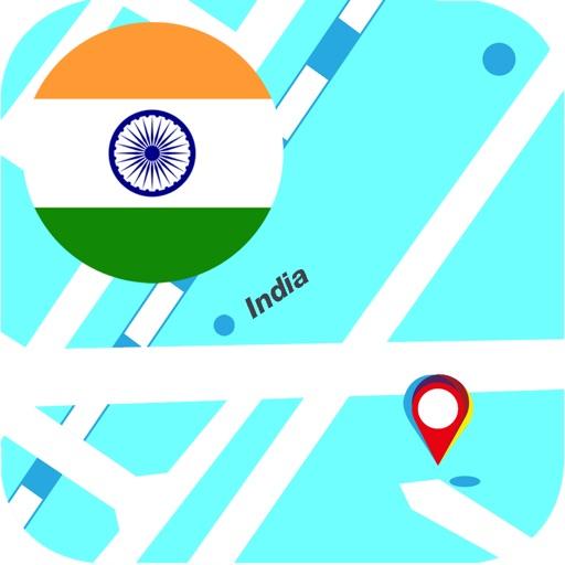 印度離線地圖