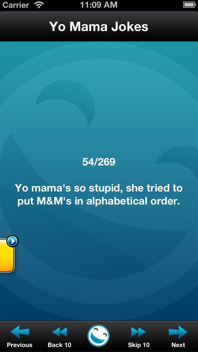 Yo Mama Jokes (FREE) screenshot two