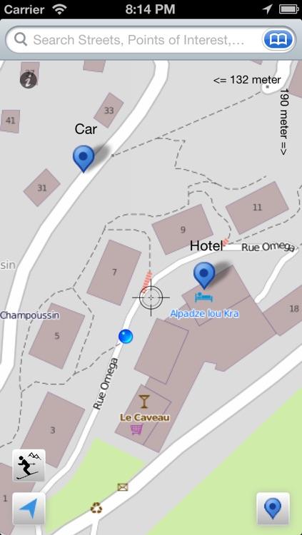 Portes du Soleil Ski and Offline Map screenshot-3