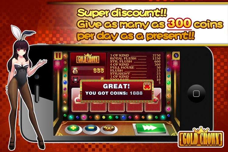 Gold Crown™ Video Poker screenshot-3