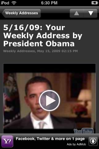 Obama Administration - White House News