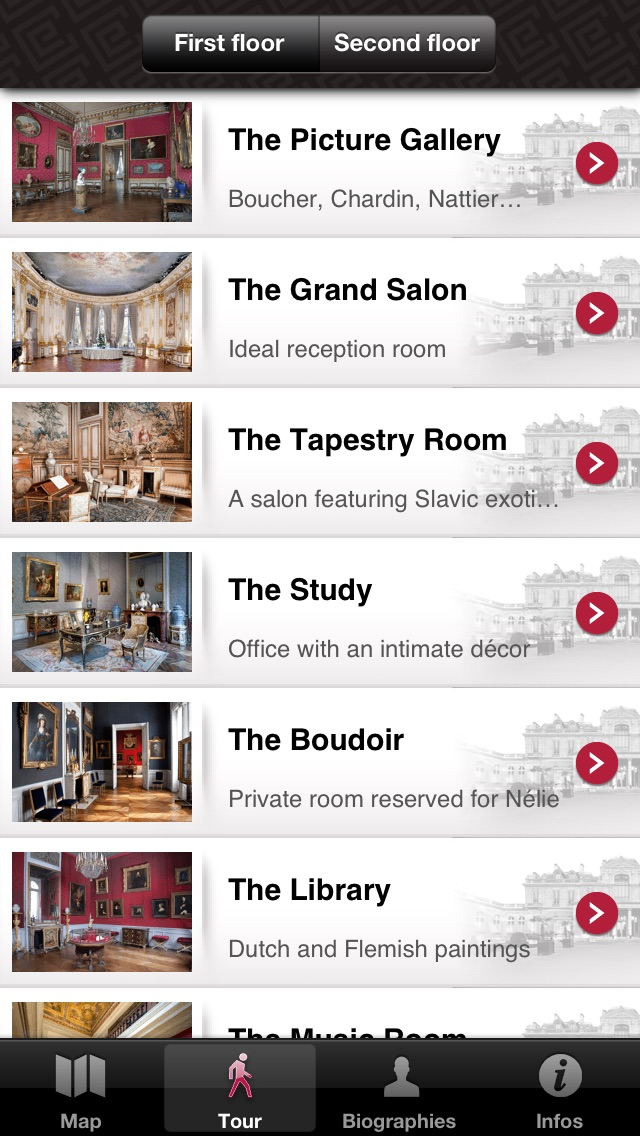 Screenshot #2 pour Jacquemart-André Museum: official application