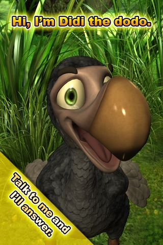 Talking Didi the Dodo Screenshot on iOS
