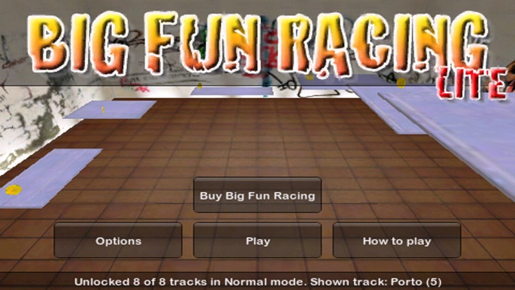 Big Fun Racing Lite screenshot-4