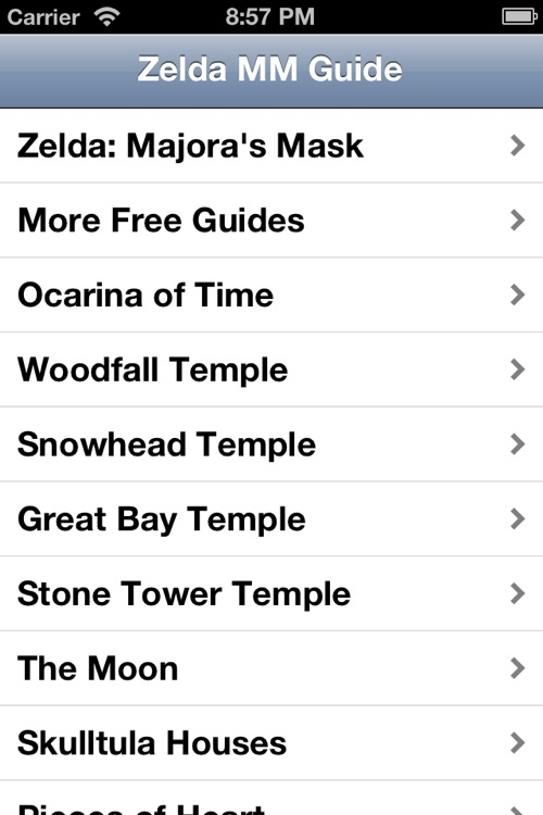 Guide for The Legend of Zelda: Majora's Mask (Walkthrough)