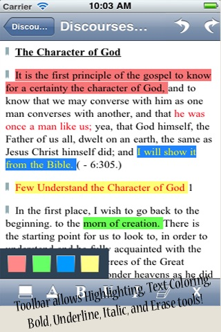 Discourses of Brigham Young - LDS Doctrinal Classics Collection screenshot-1
