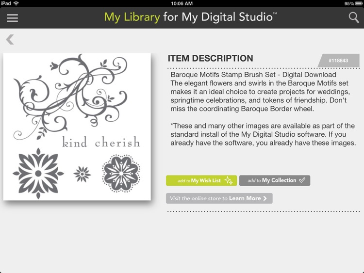 My Library for My Digital Studio screenshot-3