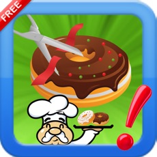 Activities of Cut The Donuts yummy : Slice rope to bake bakery cooking Chef