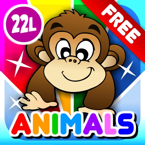 Abby Preschool - First Words: Animals FREE HD icon