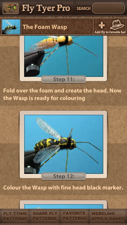 Fly Tyer PRO ~ Step by Step Fly Tying Patterns screenshot-4