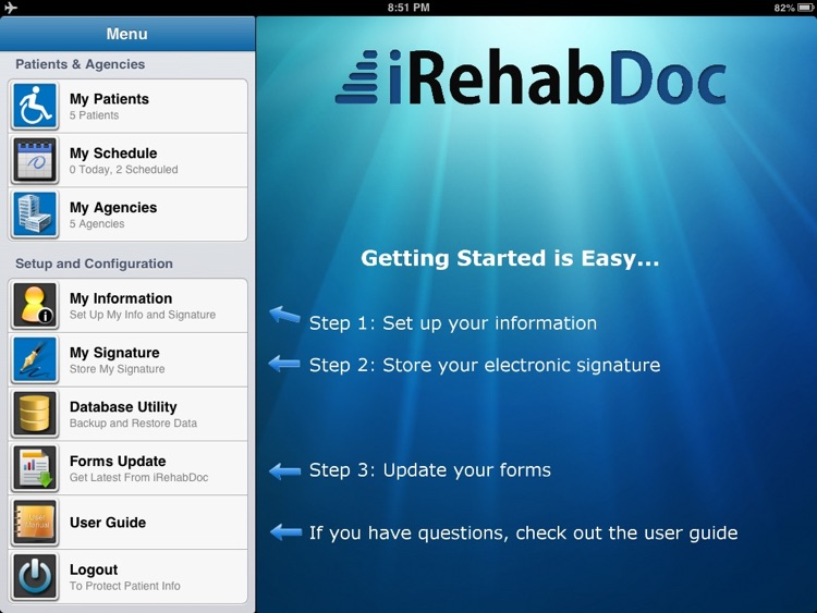 iRehabDoc screenshot-0