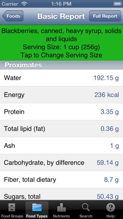 Food Reference screenshot-3