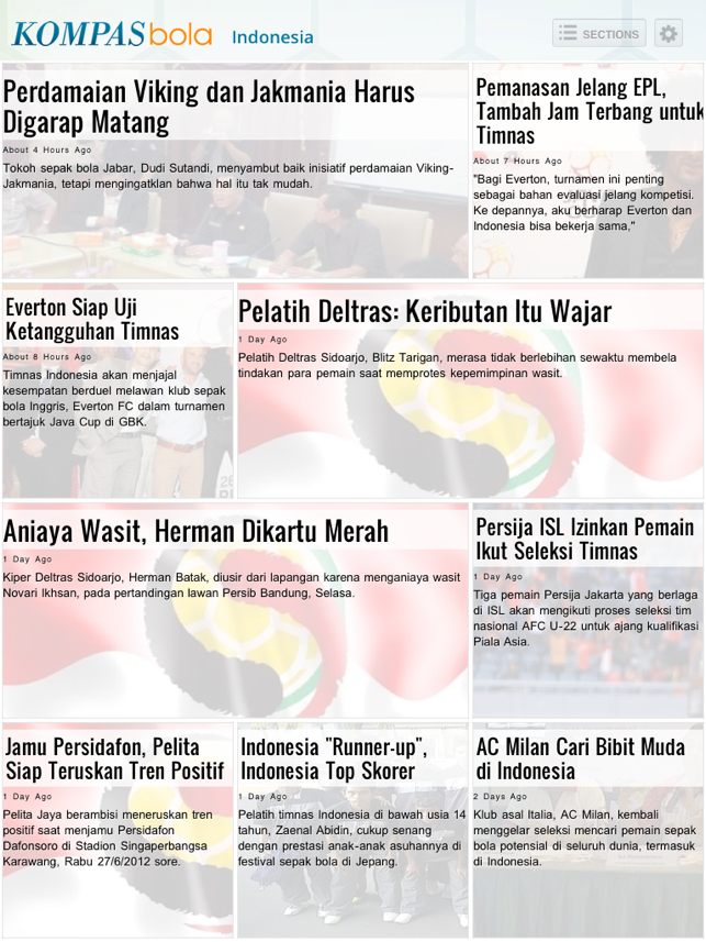 Kompas Bola for iPad on the App Store