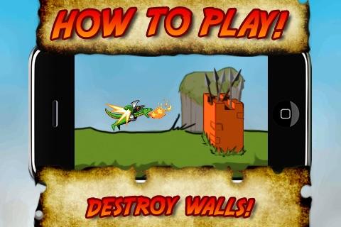 Super Jetpack Dragon IV: Village Burntopia screenshot-4