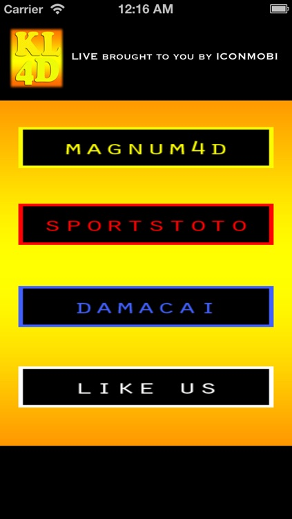 KL 4D Live - Free Live Draw for Magnum , SportsToto and PMP Damacai