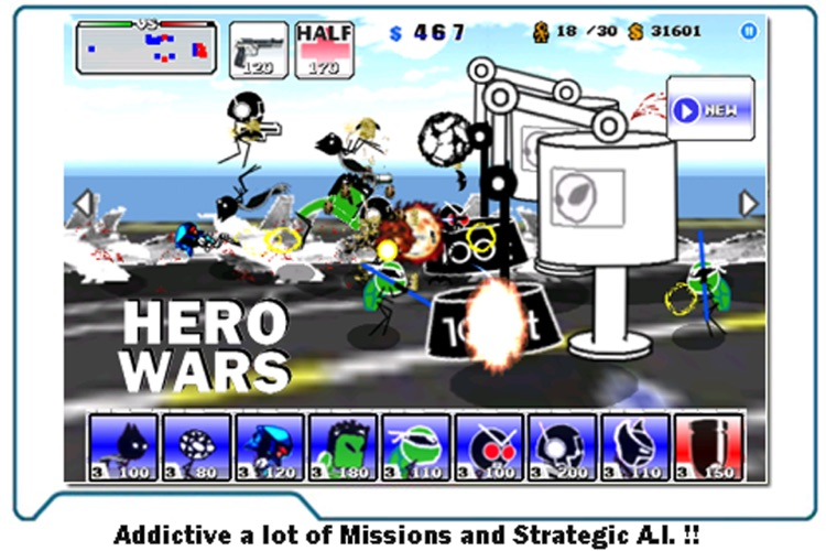 Hero Wars : Lite