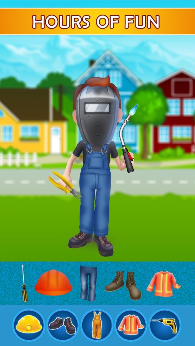 Dress Up Builder Bill - Fun Kids Game-2
