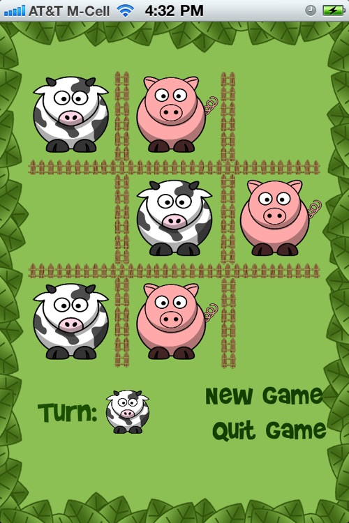 Moo Tac Toe Free - Animal Tic Tac Toe for Kids! screenshot-2