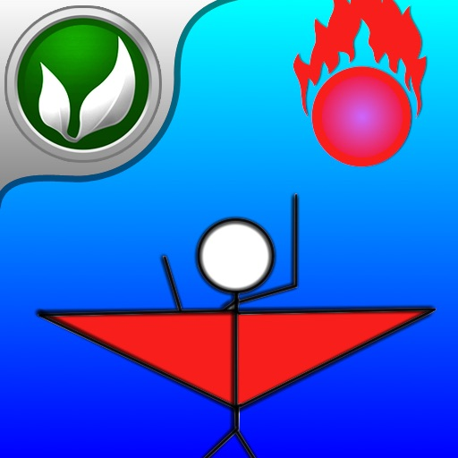 Adventure of Stickman: Fly In Space - Action Game