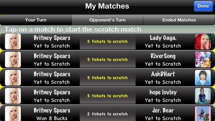 Scratchers - Free Instant Scratch Off Lucky Lottery Tickets screenshot-4