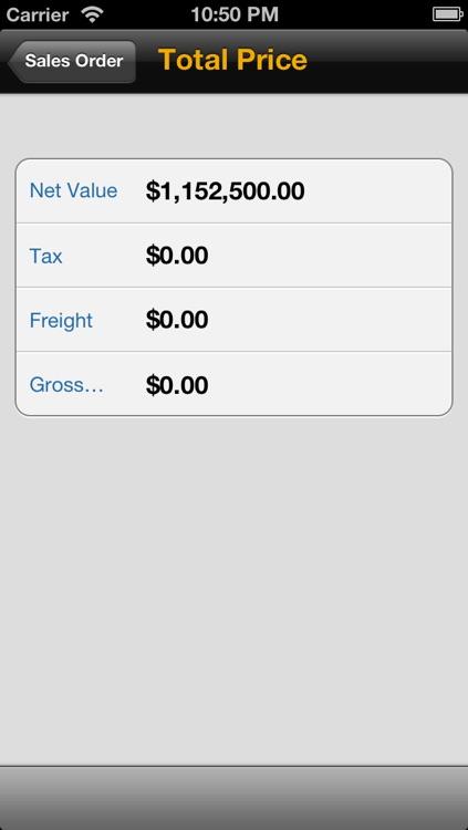 SAP CRM Sales screenshot-4