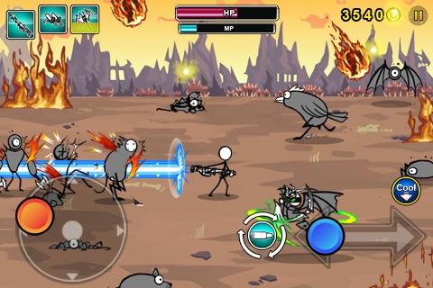 Cartoon Wars: Gunner Lite screenshot-3