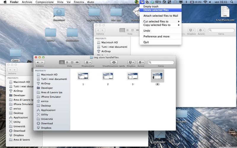 HandleFiles Screenshot