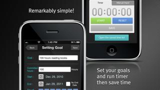 時間による目標管理 - iCloud Sync ScreenShot1