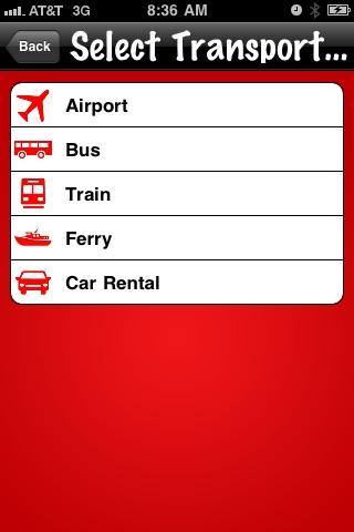 Find Europe Transportation