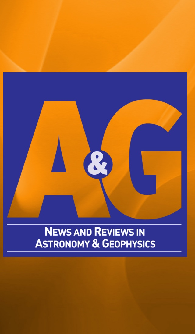 Astronomy & Geophysics Screenshot
