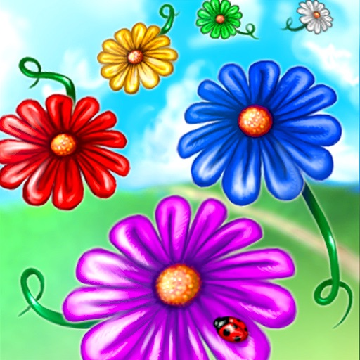 Drop Flowers icon