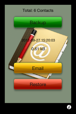 Backup My Contacts Free - Easily and Safely Store All Your Contacts screenshot 2