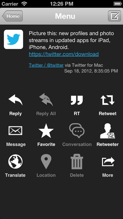 TwitRocker2 Lite for iPhone - twitter client for the next generation screenshot-3