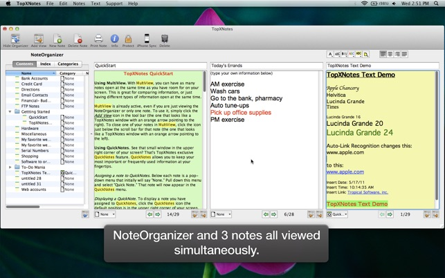 TopXNotes Apple Notes App Review by Marcel Dufresne of Mause Reviews Image