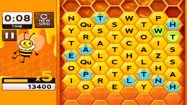 Words with Bees screenshot-3