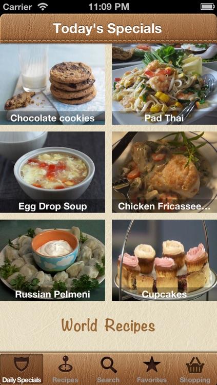 World Recipes - Cook World Gourmet screenshot-0