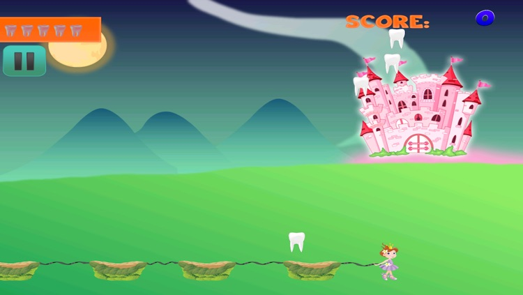 Enchanted Baby Tooth Fairy Story FREE - Collect and Catch the Tooth Falling Down Game