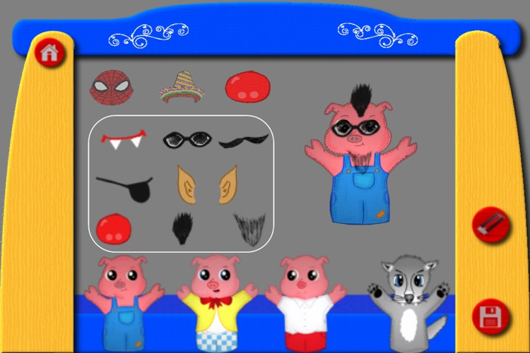 The Three Little Pigs - The Puppet Show screenshot-4
