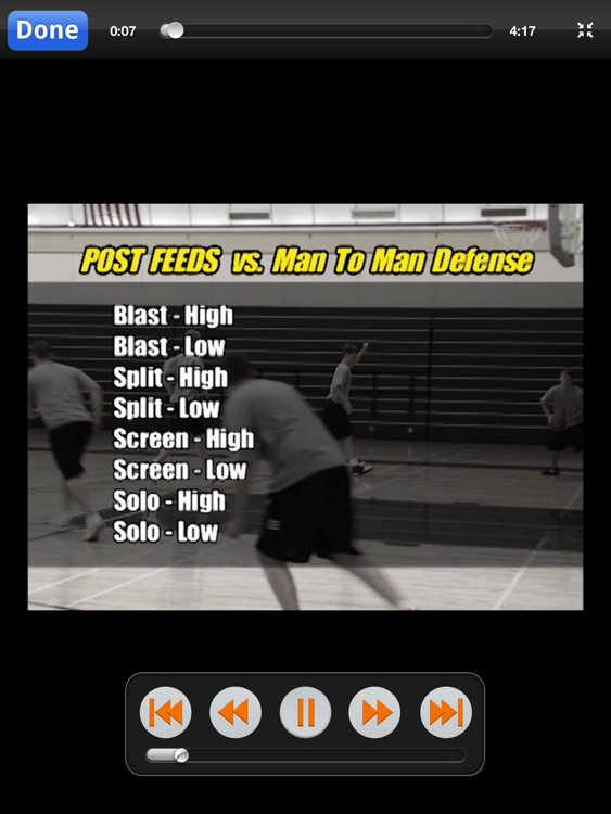 High-Low Triangle Offense: Attacking Man & Zone Defense - With Coach Lason Perkins - Full Court Basketball Training Instruction - XL screenshot-4