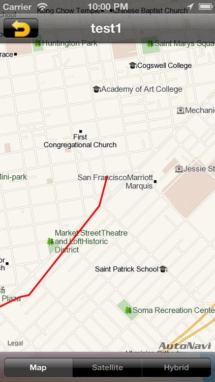 NC GPS Tracker - The footprints records Tracker screenshot-3