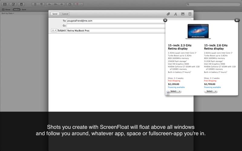 ScreenFloat-Better Screenshots Screenshots