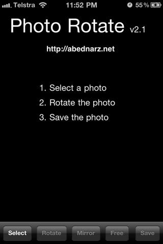 Photo Rotate screenshot one
