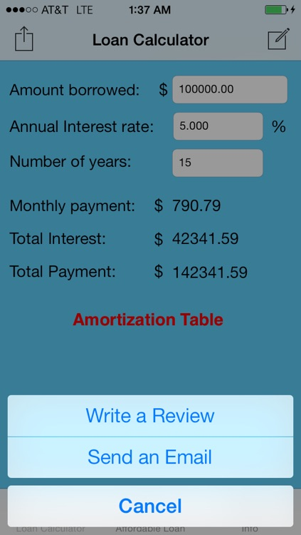 Simple Loan Calculator screenshot-4