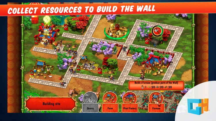 Monument Builders - Great Wall of China: A Construction and Resource Management Tycoon Game (Free)